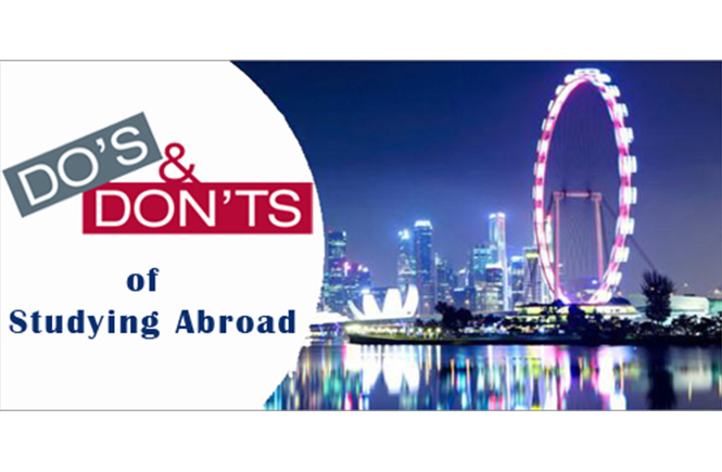 Do's and don'ts for education abroad